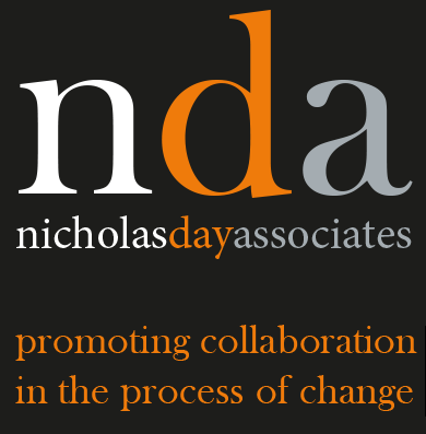 NDA - Nicholas Day Associates logo - Working in Partnership